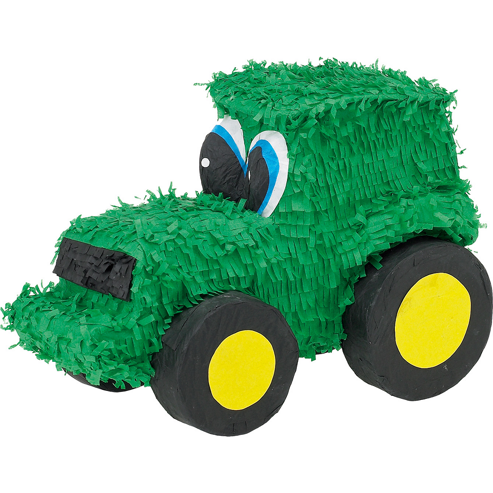 GREEN TRACTOR PINATA BIRTHDAY OR PARTY GAME// DECORATION