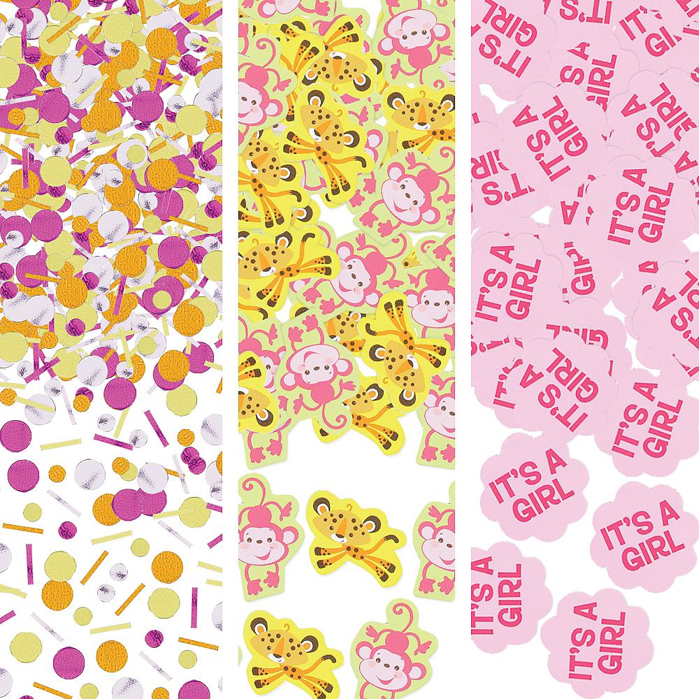 Fisher-Price Jungle Girl Baby Shower Confetti Image #1