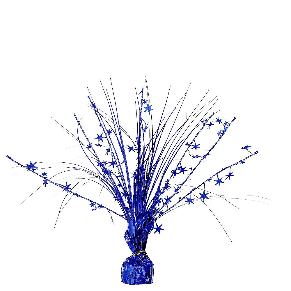 Royal Blue Spray Centerpiece Image #1