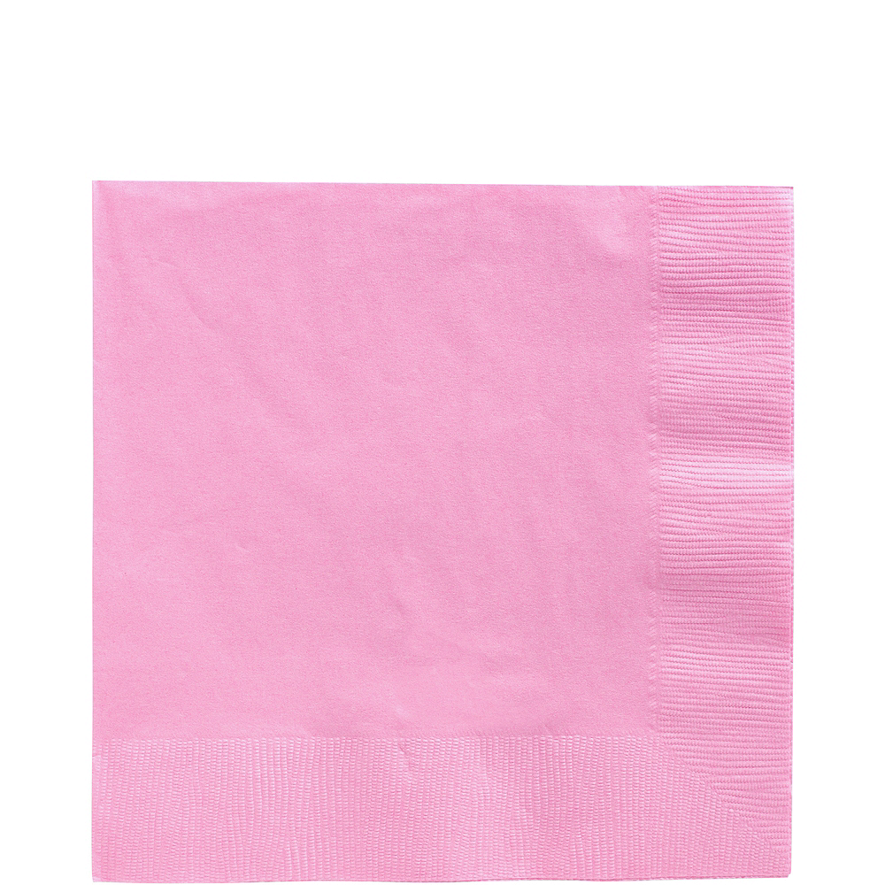 Big Party Pack Pink Lunch Napkins 125ct Image #1
