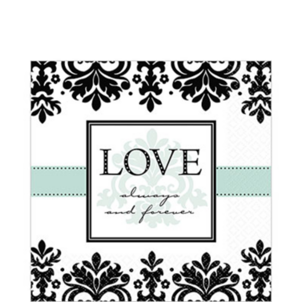 Always & Forever Lunch Napkins 16ct Image #1