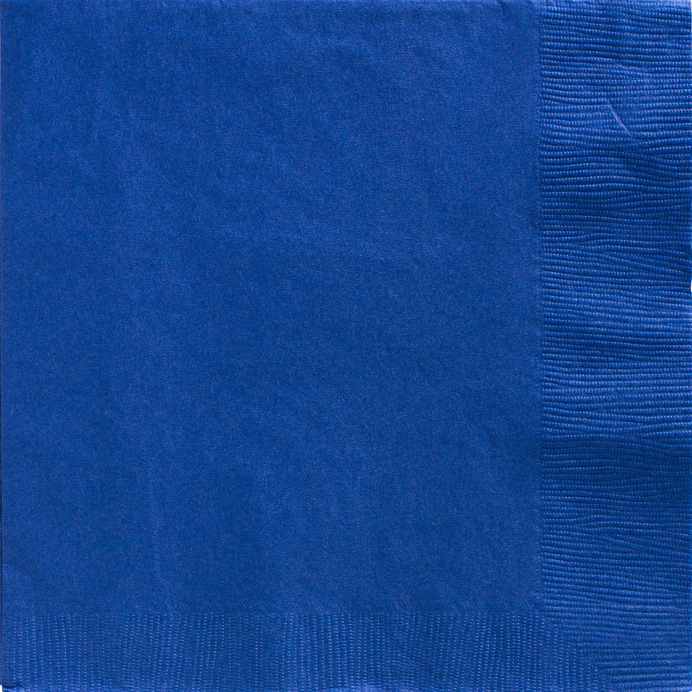 Big Party Pack Royal Blue Dinner Napkins 50ct Image #1