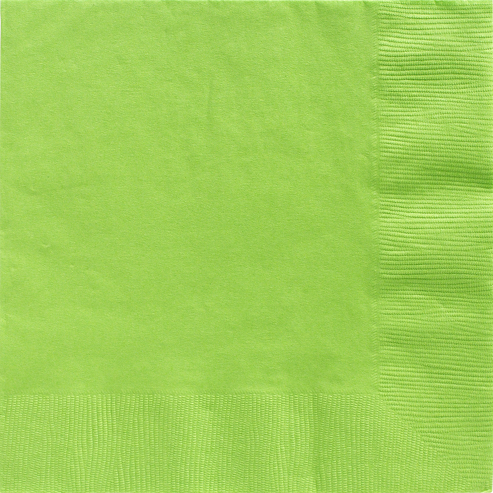 Big Party Pack Kiwi Green Dinner Napkins 50ct Image #1