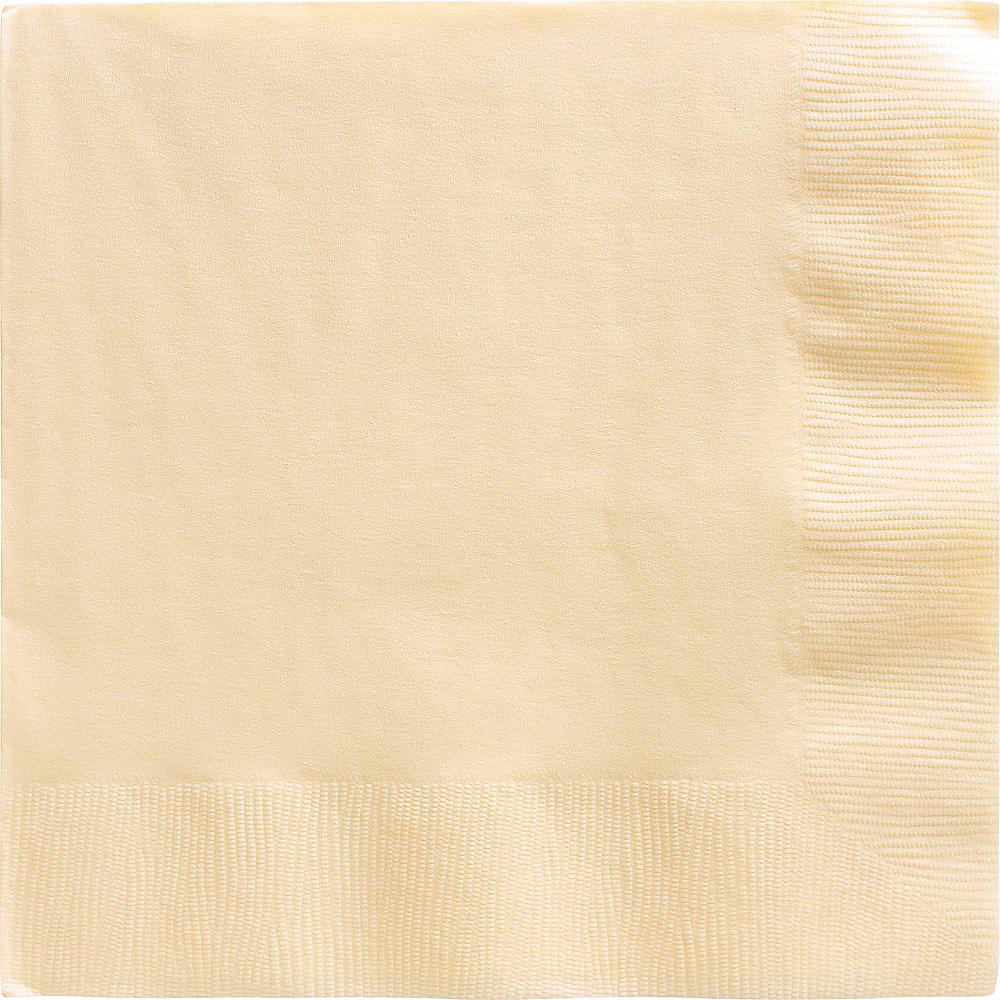 Big Party Pack Vanilla Cream Dinner Napkins 50ct Image #1