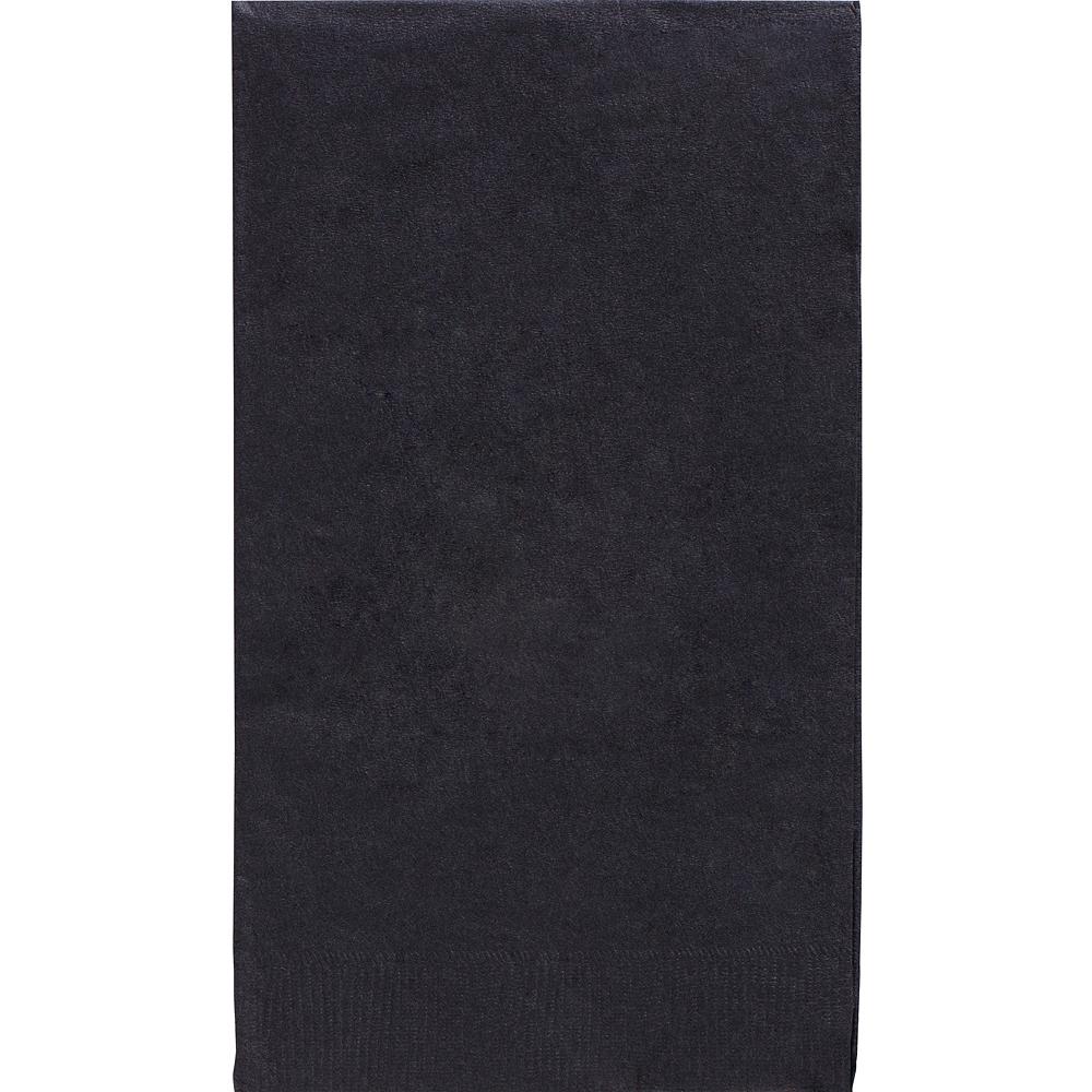 Big Party Pack Black Guest Towels 40ct Image #1