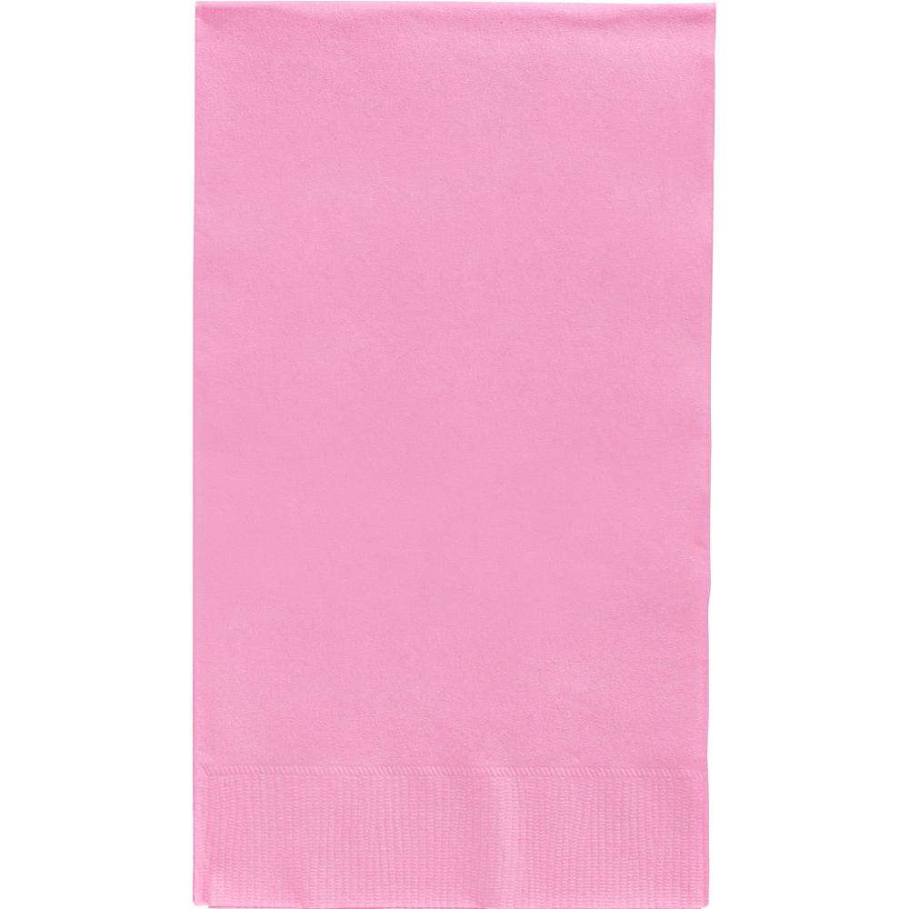Big Party Pack Pink Guest Towels 40ct Image #1