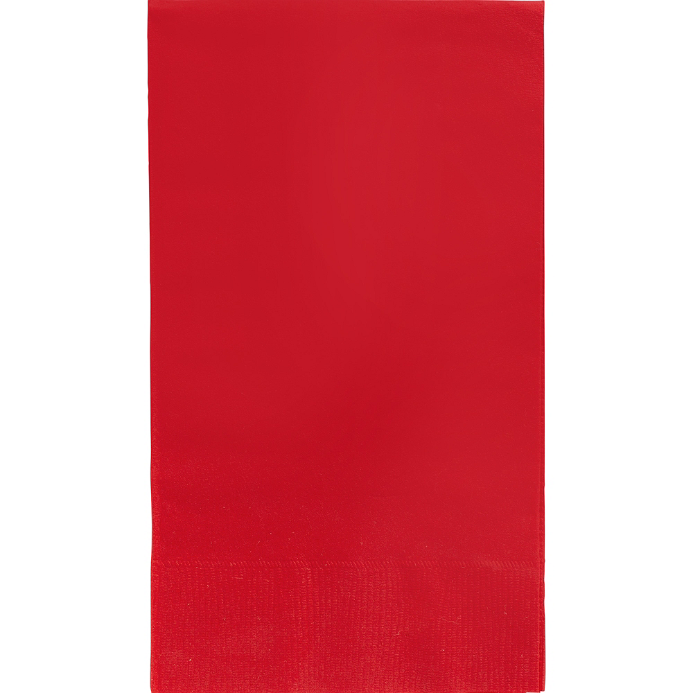 Big Party Pack Red Guest Towels 40ct Image #1