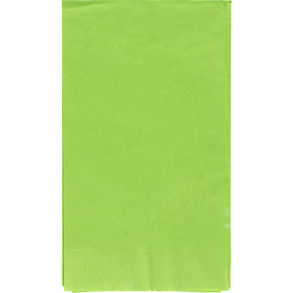 Big Party Pack Kiwi Green Guest Towels 40ct Image #1