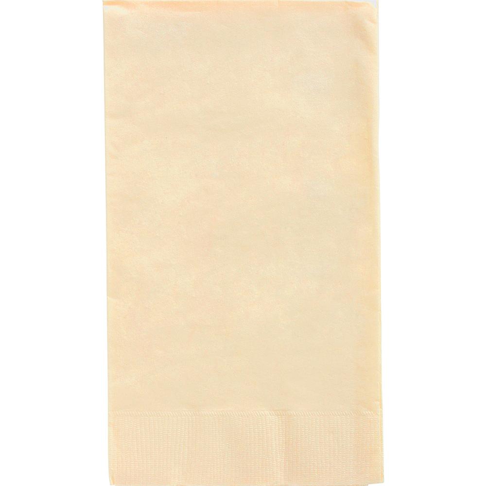 Big Party Pack Vanilla Cream Guest Towels 40ct Image #1