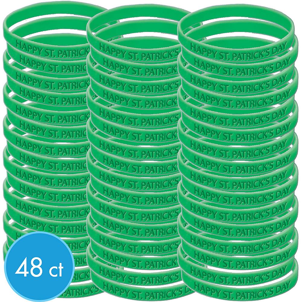 St. Patrick's Day Attitude Bracelet Kit 48ct Image #1