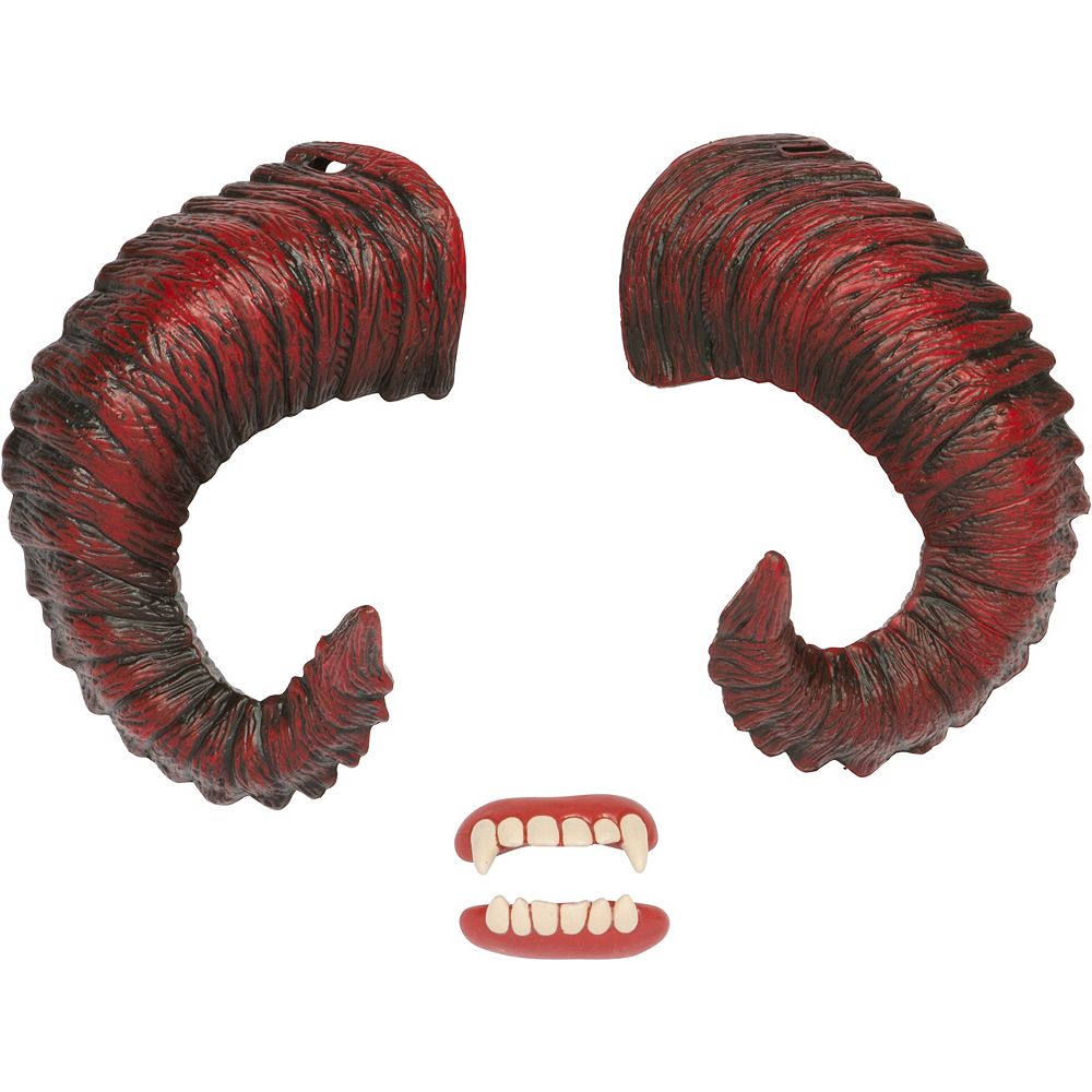 Demon Horns with Teeth Image #2