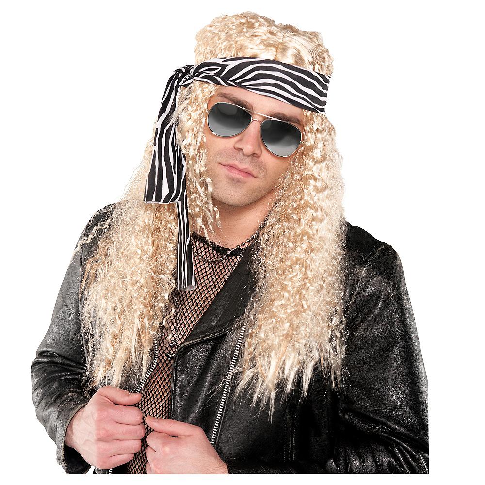 Heavy Metal Rocker Wig Image #1