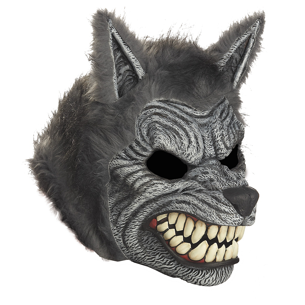 motion werewolf mask party city