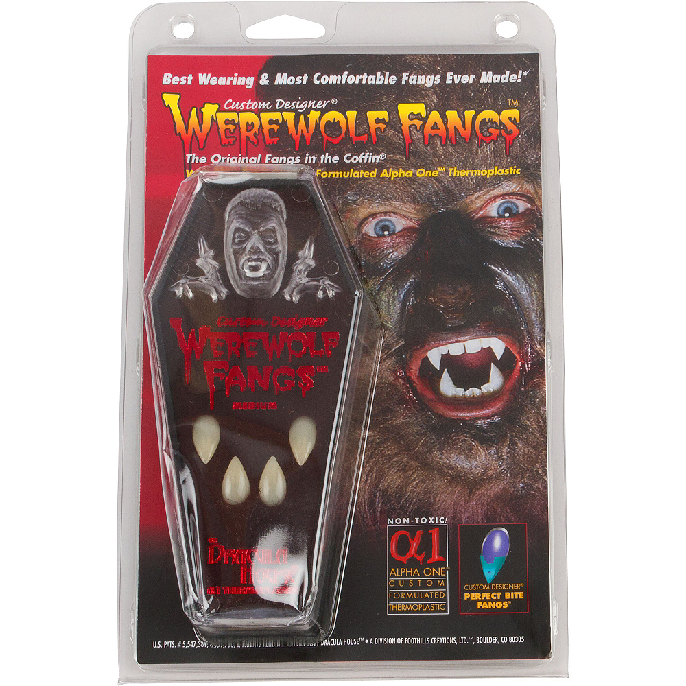 Custom Designer Werewolf Fangs Image #3