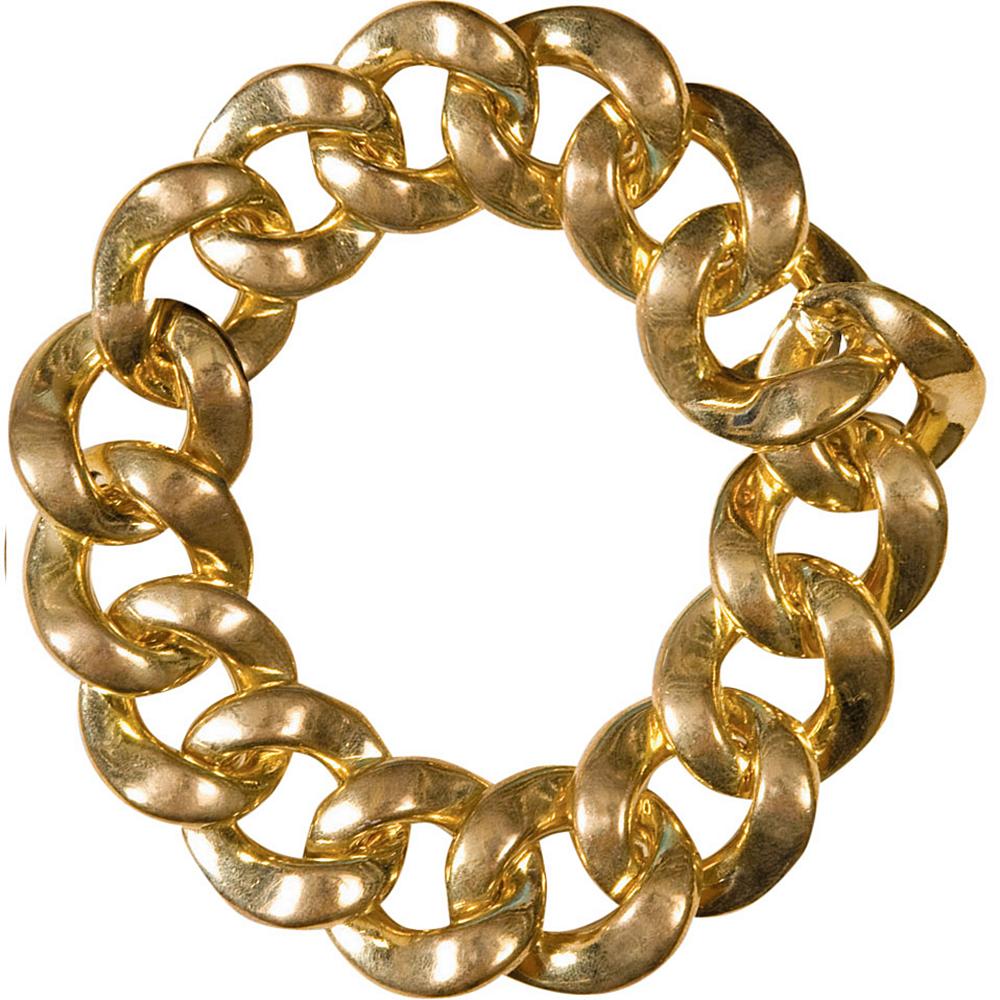 Hip Hop Big Links Gold Bracelet Image #2