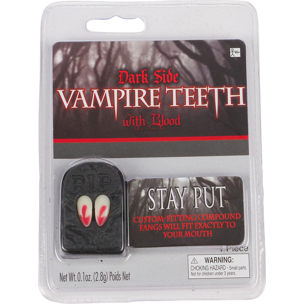 Bloody Vampire Fangs Image #3