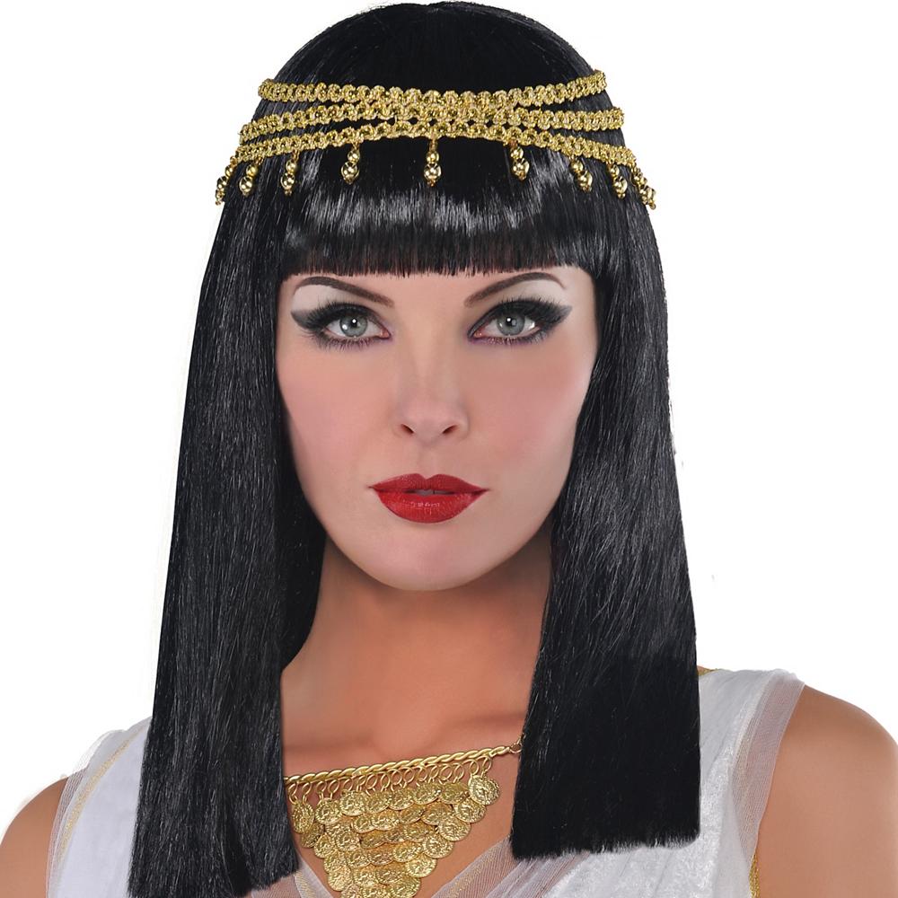 Cleopatra Wig with Headband Image #1