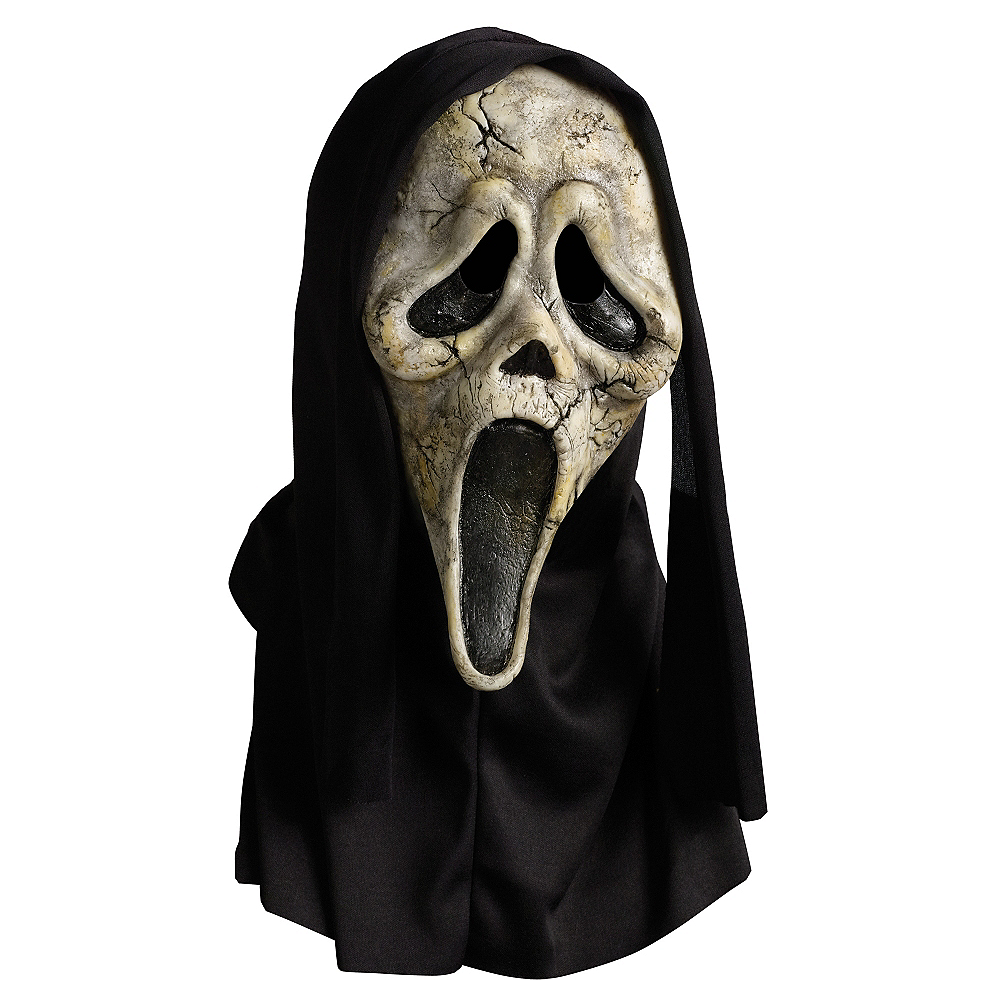 Zombie Ghost Face Mask Image #1