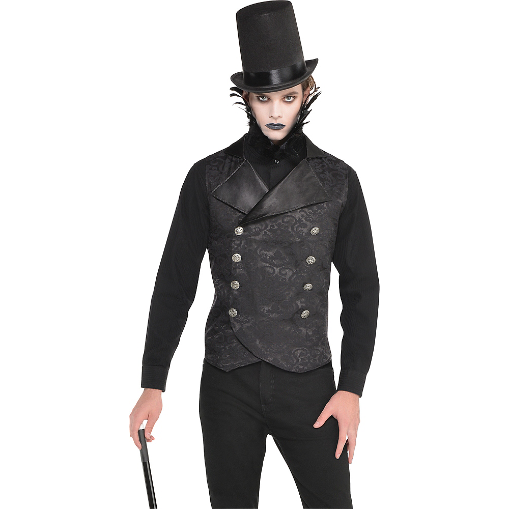 Black Vampire Vest Image #1