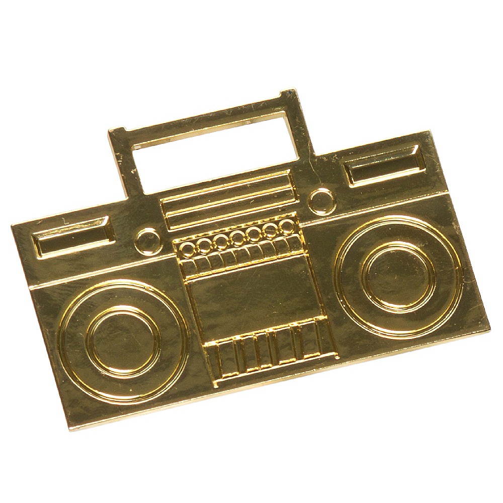 Old School Boom Box Ring Image #1