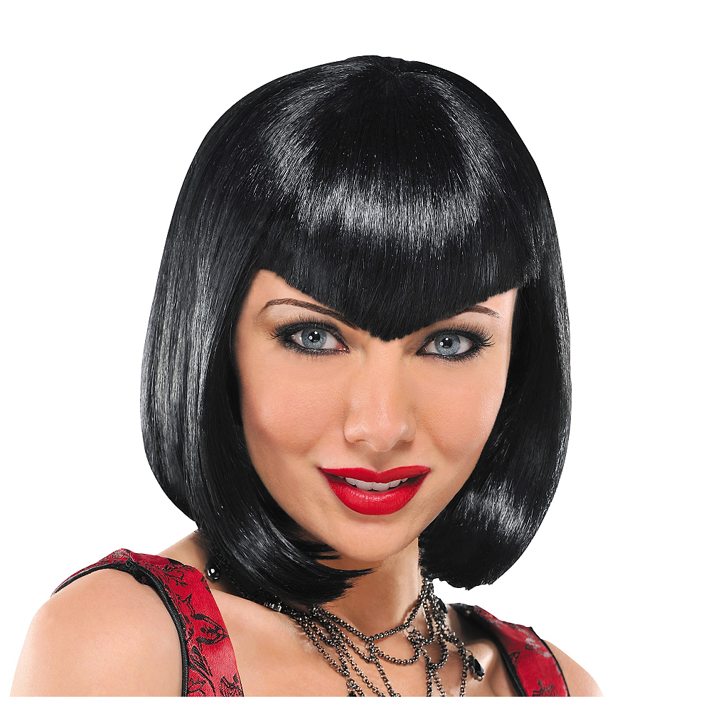 Va Va Vampiress Short Black Wig Image #1