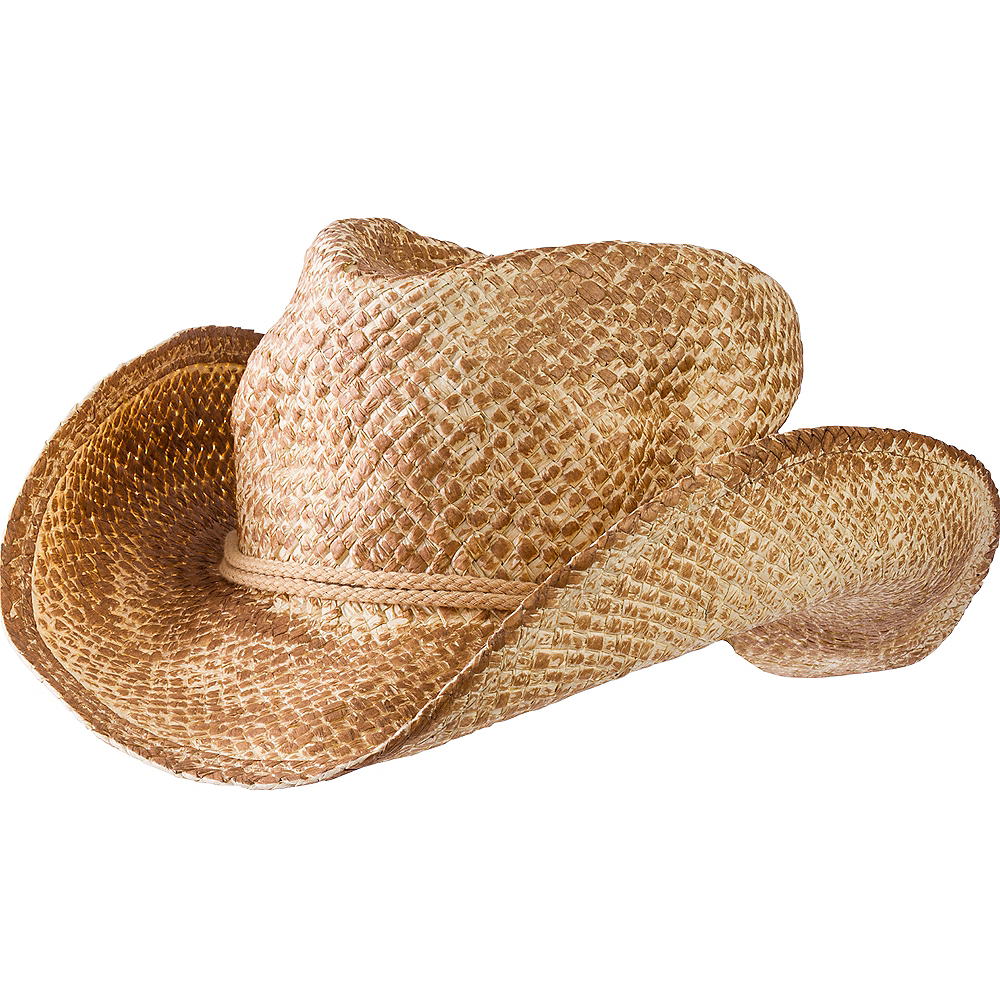 Nav Item for Straw Cowboy Hat Image  1 ... d9ab9172555