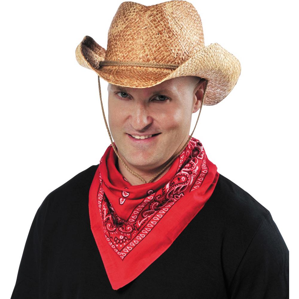 Straw Cowboy Hat Image #2