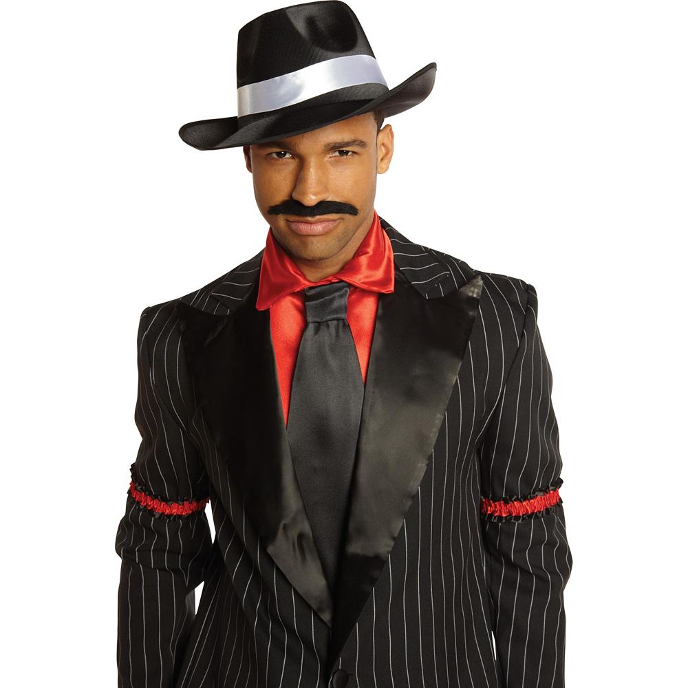 Satin Band Gangster Hat Image #2