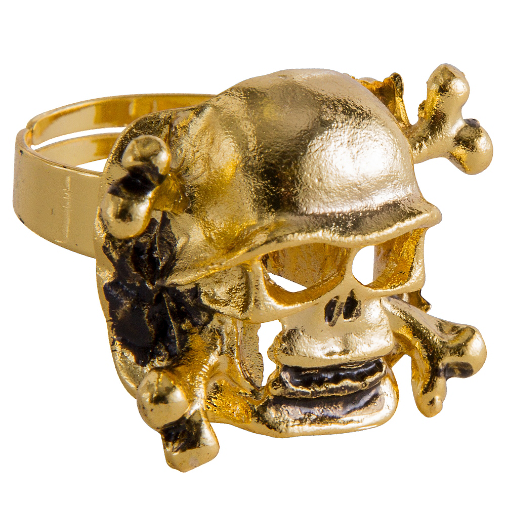 Pirate Skull Ring Image #1