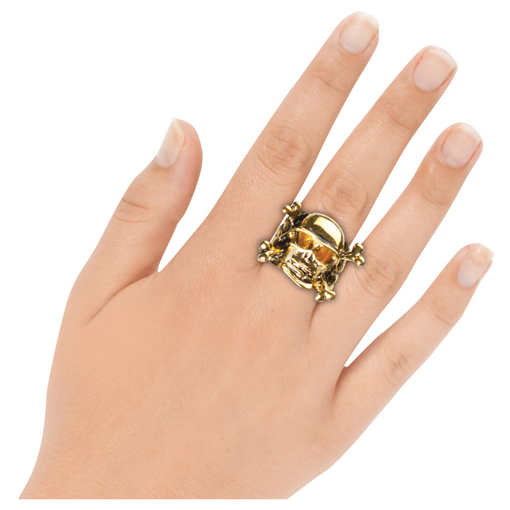 Pirate Skull Ring Image #2