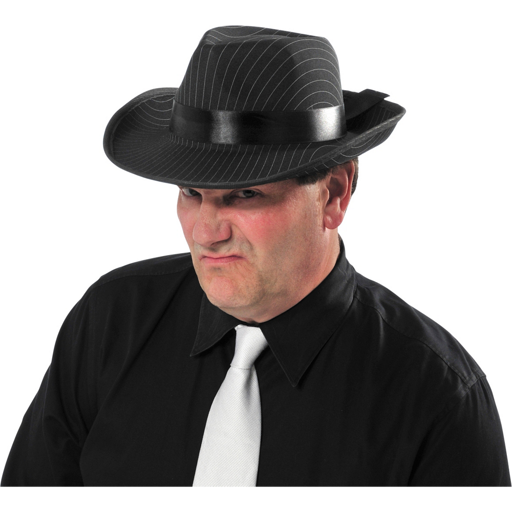 Nav Item for Pinstripe Gangster Hat Image #2
