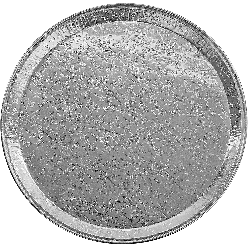 Embossed Aluminum Platter Image #1