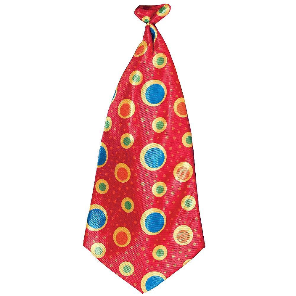 Nav Item for Jumbo Clown Tie Image #1