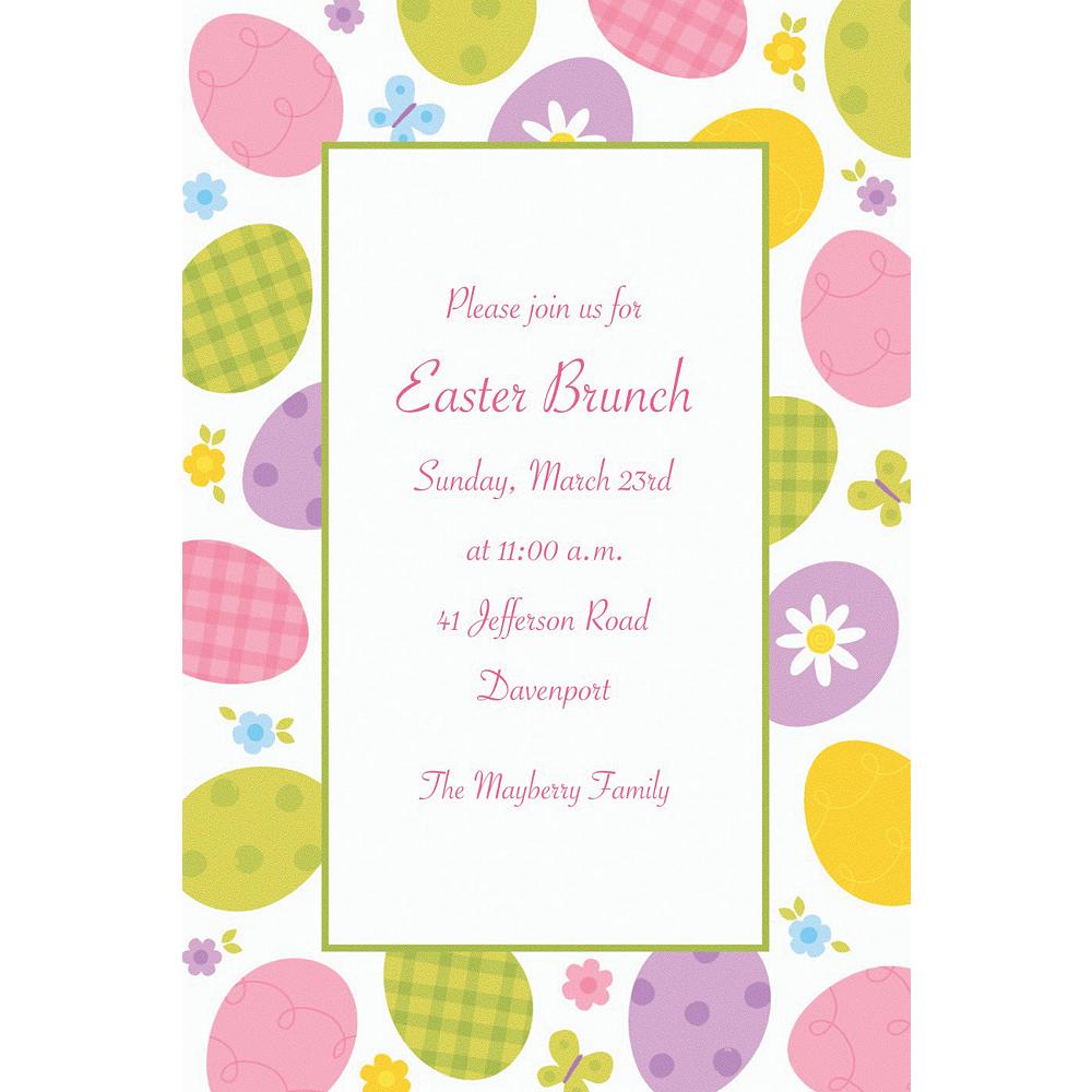 Custom Eggstravaganza Invitations Image #1