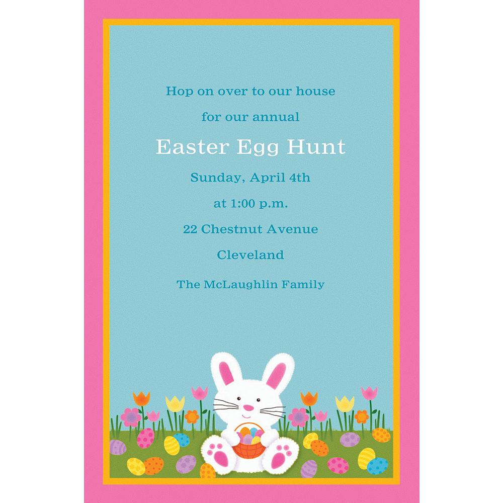 Custom Easter Friends Invitations Image #1