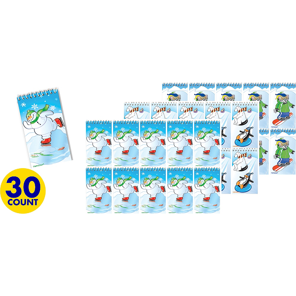 Nav Item for Winter Fun Notepads 30ct Image #1