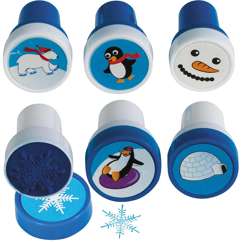 Winter Fun Stamper Set 6pc Image #1