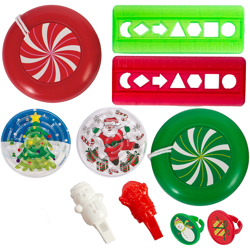 Christmas Party Favor Mix 100pc Image #1