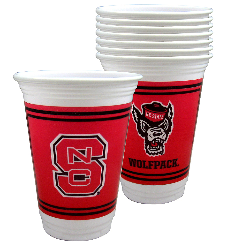 North Carolina State Wolfpack Party Cups 8ct Image #1
