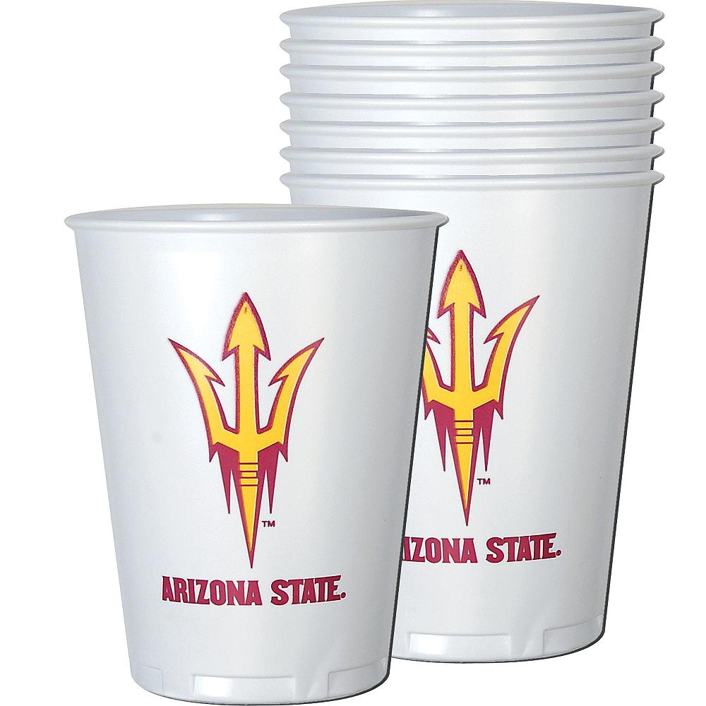 Arizona State Sun Devils Plastic Cups 8ct Image #1