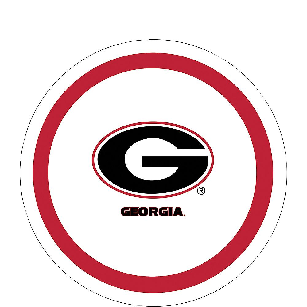 Georgia Bulldogs Dessert Plates 12ct Image #1