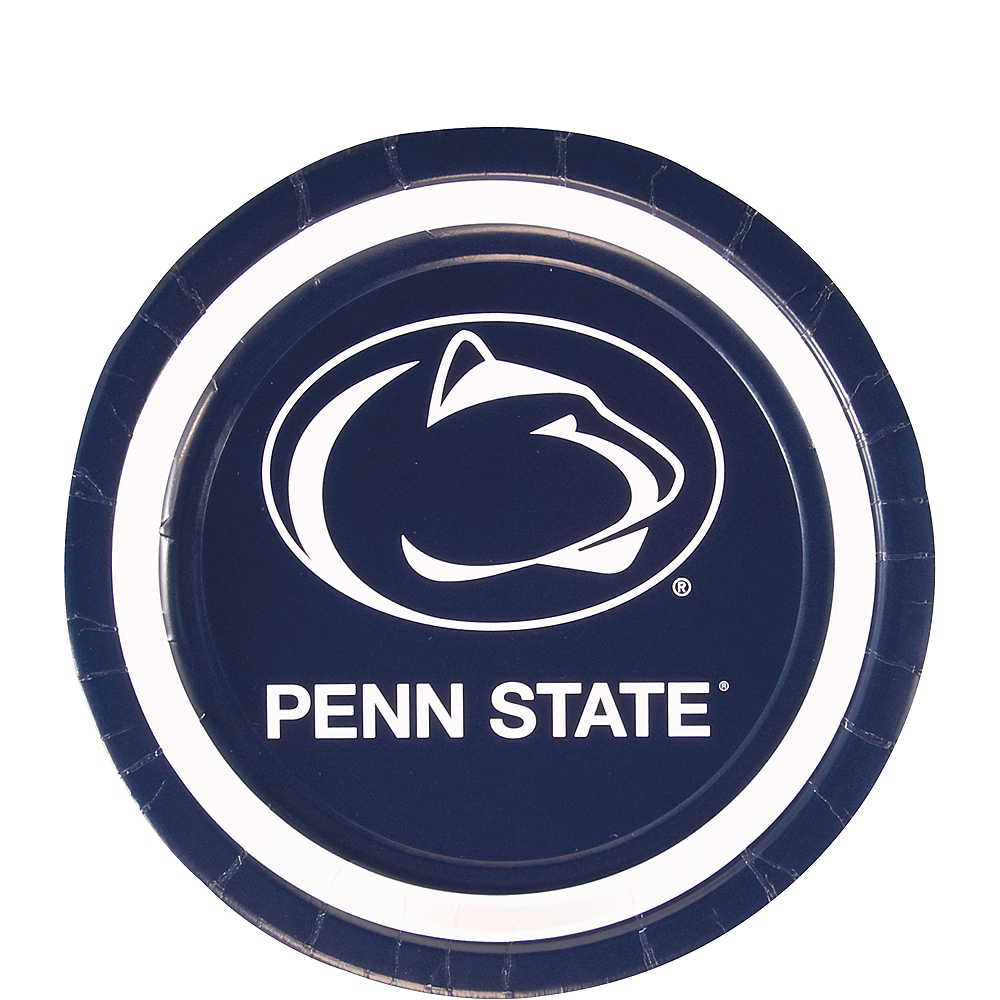 Penn State Nittany Lions Dessert Plates 12ct Image #1
