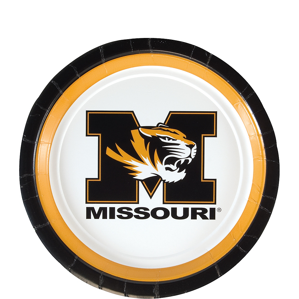 Missouri Tigers Dessert Plates 12ct Image #1