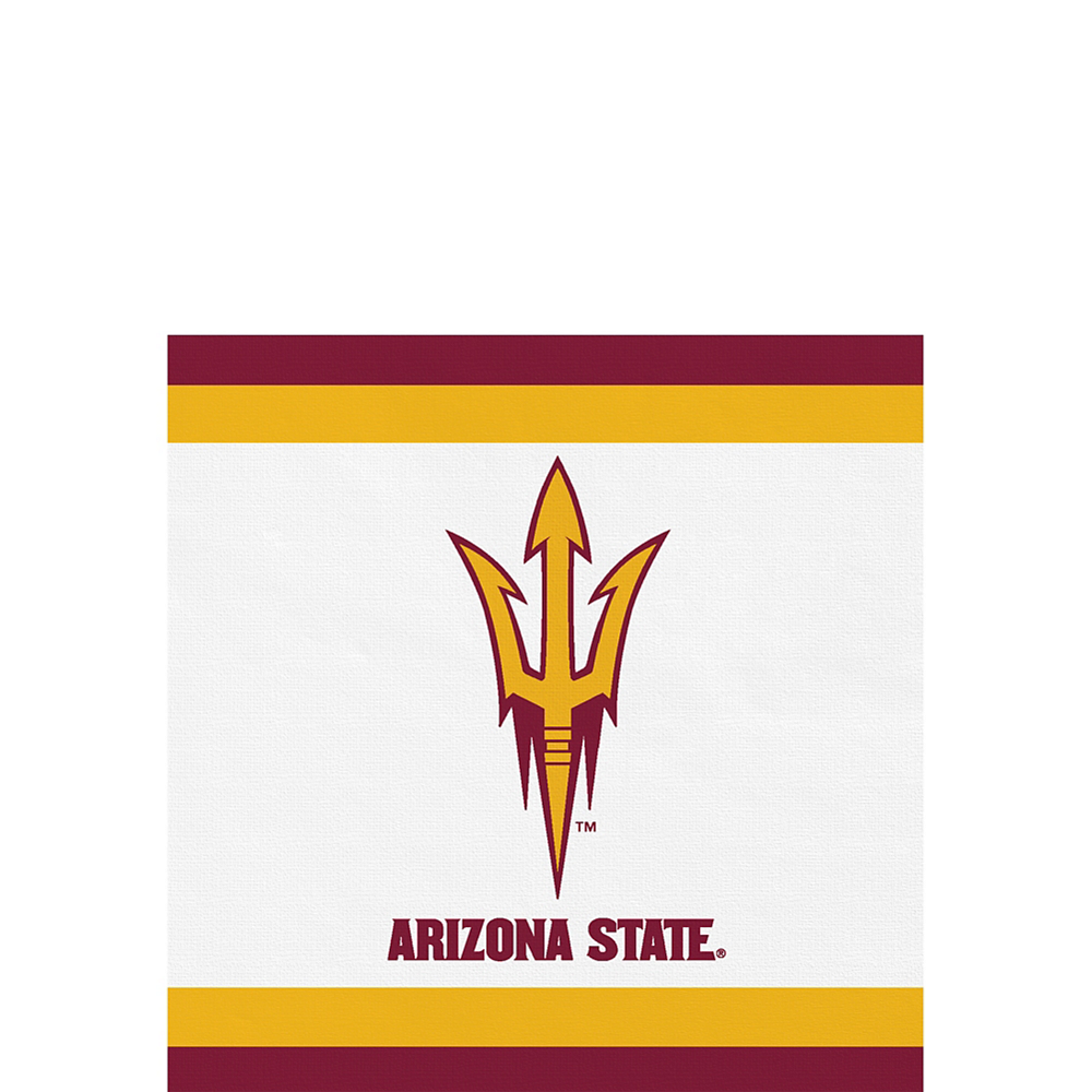 418f405df770ea Arizona State Sun Devils Beverage Napkins 24ct | Party City