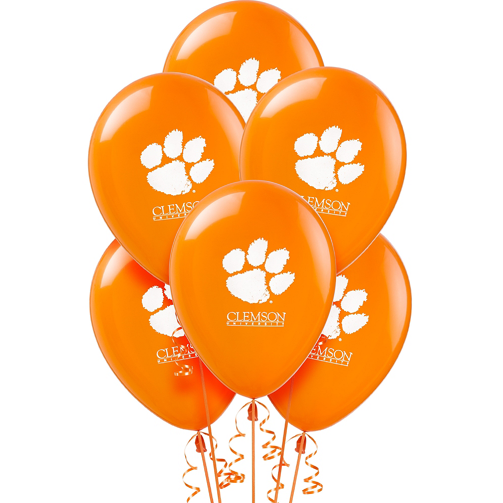 Clemson Tigers Balloons 10ct Image #1
