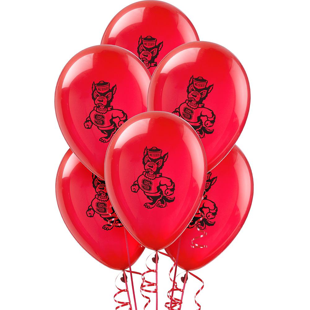 North Carolina State Wolfpack Balloons 10ct Image #1