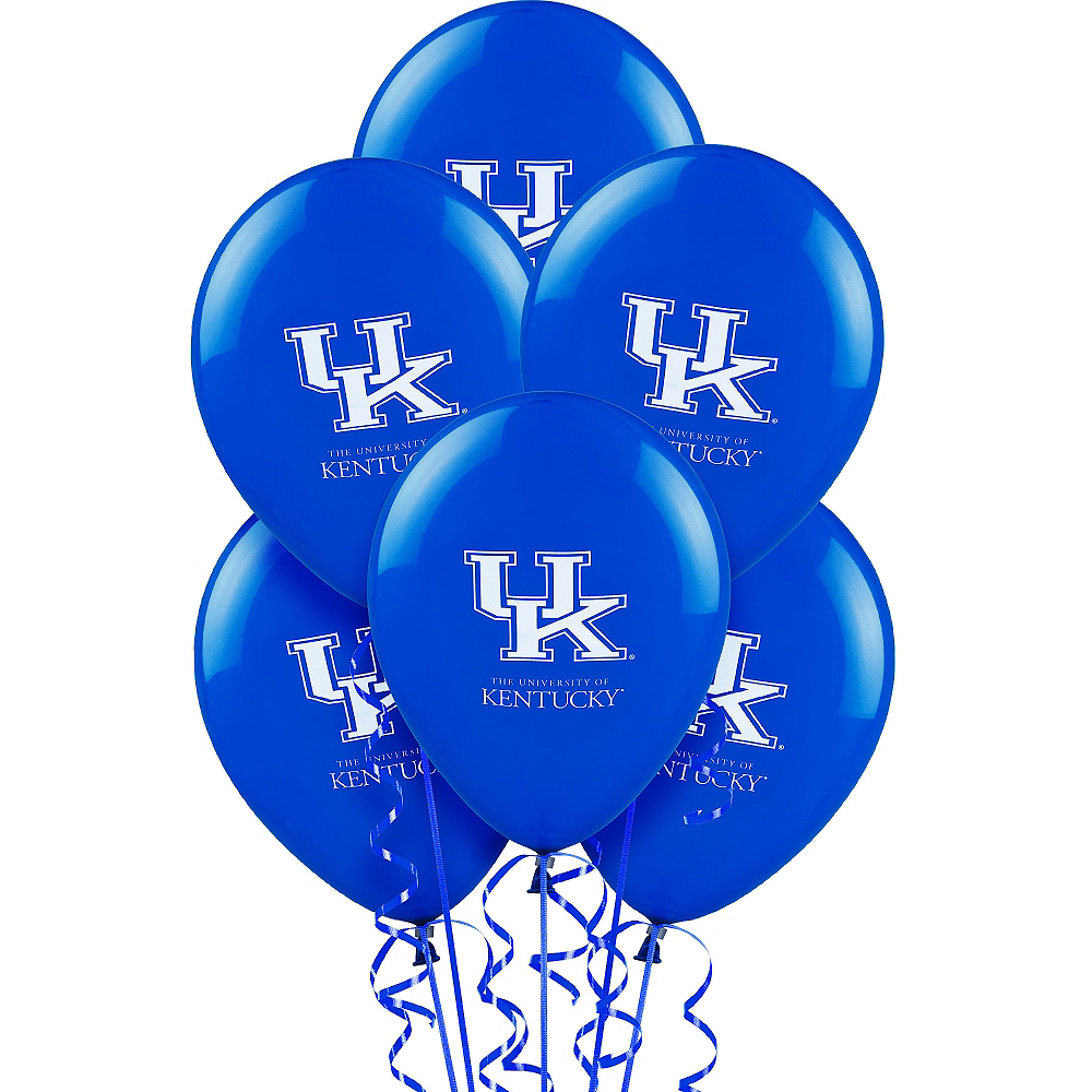 Kentucky Wildcats Balloons 10ct Image #1
