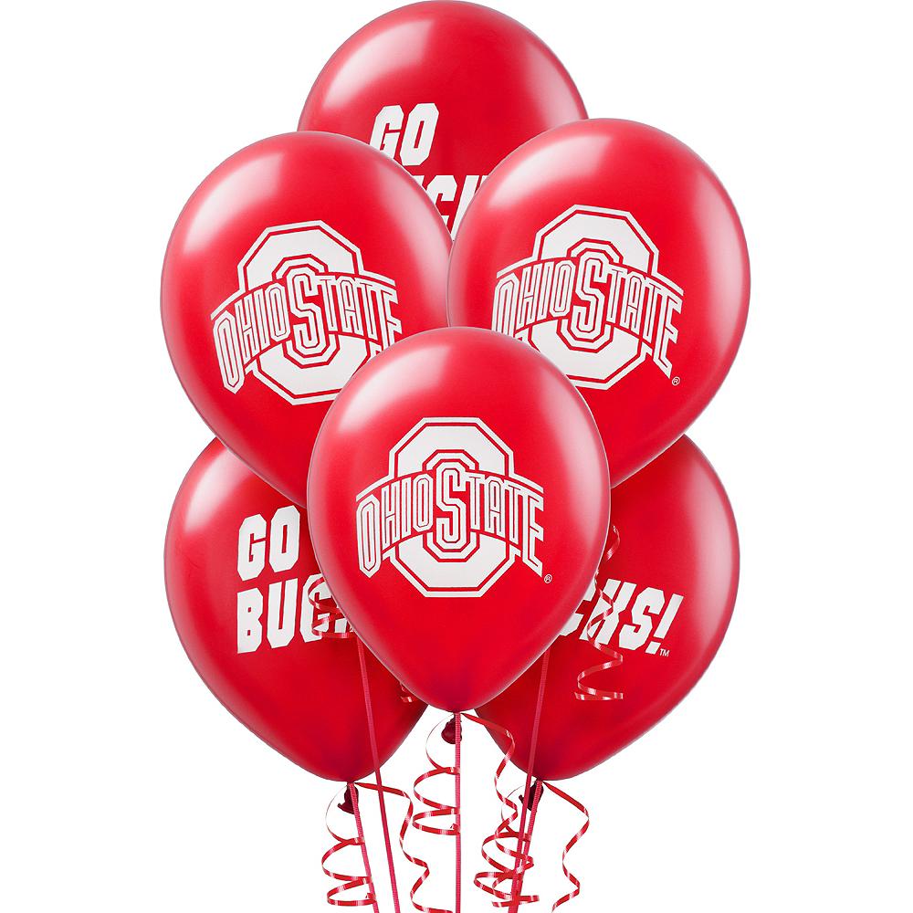 Ohio State Buckeyes Balloons 10ct Image #1