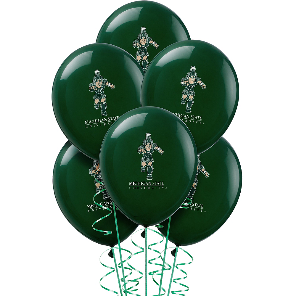 Michigan State Spartans Balloons 10ct Image #1