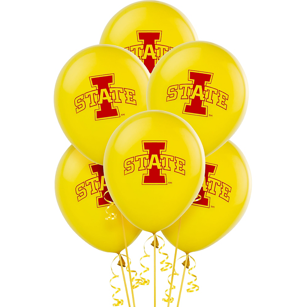 Nav Item for Iowa State Cyclones Balloons 10ct Image #1